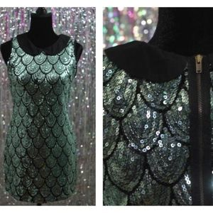 Ezra Turquoise  Dress *Mint condition (M)